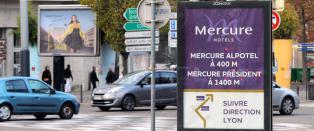 Grenoble skal rense gatene for reklame