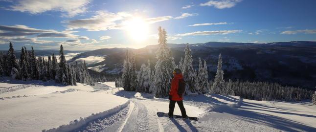 N� kommer vinter'n: Her kan du ta skiene fatt