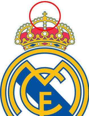 Real Madrid fjerner det tradisjonsrike korset fra klubblogoen
