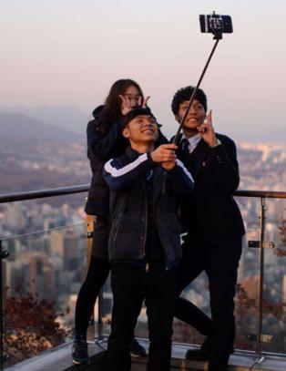 S�r-Korea innf�rer tre �rs fengsel for uregistrerte selfiepinner