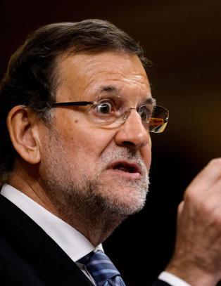 Spanias statsminister nektet � la seg avbilde sammen med helseministeren
