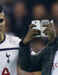 Tottenham-spillerne sendt i garderoben etter tre episoder med banestormere