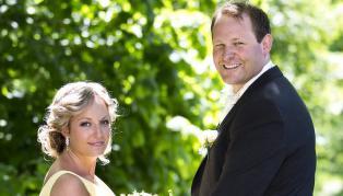 �Gift ved f�rste blikk�: Skilte seg etter 22 dager