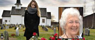 Bj�rg (83) ble sluppet av p� feil sted. Fem timer senere ble hun funnet d�d i en bekk like ved hjemmet