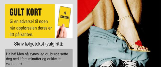 N� kan du gi gult kort til kolleger som drikker for mye p� julebordet