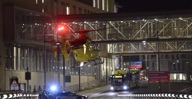 Sju nordmenn skadd i ulykke i Sverige - fraktet til Trondheim