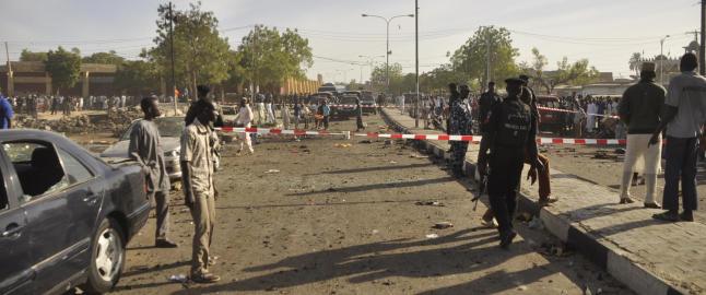 Flere titalls drept og omtrent 200 personer skadet etter angrep mot en moske i Nigeria