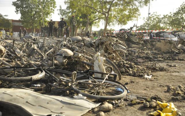 Mange drept i bombe�angrep mot mosk� i Nigeria