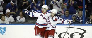 Zuccarello og Rangers med sterk borteseier i Philadelphia