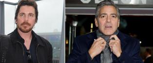 Christian Bale ut mot Clooney: - Slutt � sutre!