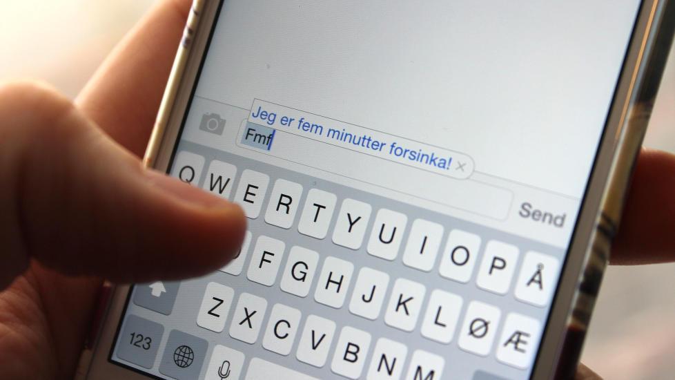 Skriv Møt sms
