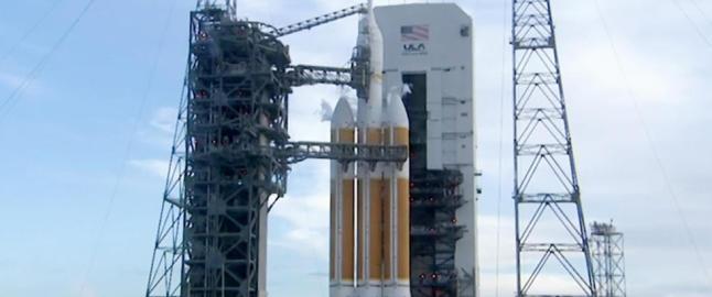 Dette er starten p� oppdraget som skal sende mennesker til Mars