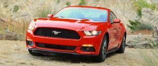 Ford Mustang! N� er den her igjen - og for en bil!