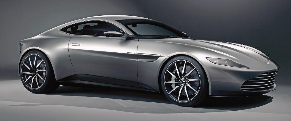 Se den nye r�lekre James Bond-bilen