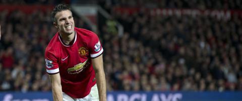 Van Persie og 13 andre United-spillere kan forsvinne
