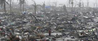I fjor d�de over 7000 etter tyfonen Haiyan. N� er en ny tyfon p� vei til samme omr�de