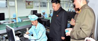 Nord-Koreas internett kollapser