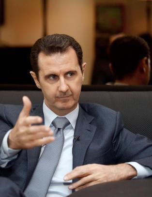 - Syrias regime bruker klorgass mot IS-oppr�rere