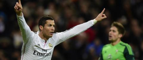 Carlsen �pnet det hele, s� fulgte Ronaldo opp med hat trick