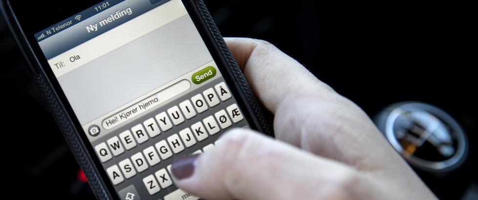 Trolig over 5 milliarder tekstmeldinger i 2014