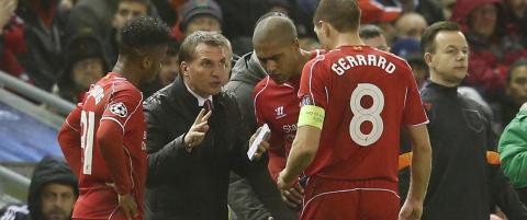 Rodgers tror Liverpool kan fikse mesterligaspill