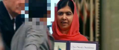 - Scenestormerens ord til Malala: - V�r s� snill, Malala. Glem ikke Mexico