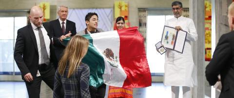 Meksikaneren som stormet nobelscenen sendes ut