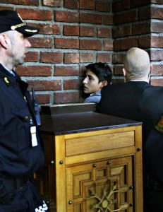 Nobel-demonstranten Adan l�slates ikke i dag