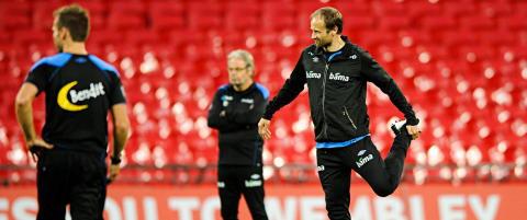 Rushfeldt deler tiden mellom klubb- og landslag