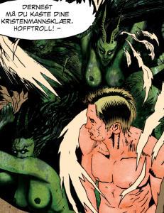 �Peer Gynt� som tegneserie: En knakende god id�