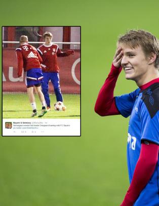 Bayern bekrefter at de vil ha �degaard: Se bildene