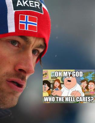 Northug til Dagbladet om sine to soningsversjoner: �Who the hell cares?�