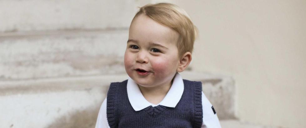 F�rste gang prins George (1) ble avbildet slik, �kte klessalget med 600 prosent