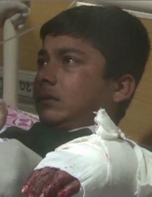 I dag kom forslag til � sikre skolebarn mot krig