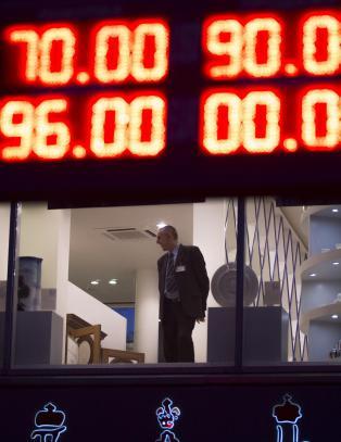 Rubel-krise: - Ikke i v�re verste dr�mmer kunne vi forestille oss noe slikt