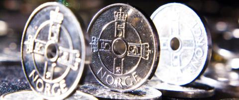 Sp�r flere t�ffe uker for den norske krona