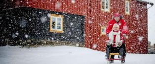 Sjekk hvor det (mest sannsynlig) blir hvit jul