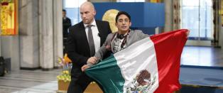 Nobel-aksjonist livredd i Mexico