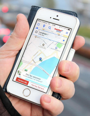 Ti prosent bestiller via appen n�