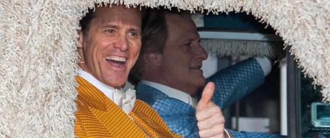 Jim Carrey lever godt av sin elleville trynefaktor