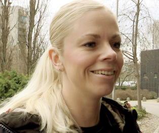 Ida Bj�rndalen er gift med en svensk mann. I morgen heier han p� Norge