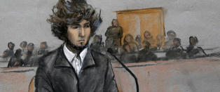 Tre mennesker ble drept under Boston Maraton: I dag m�tte 21-�ringen i retten