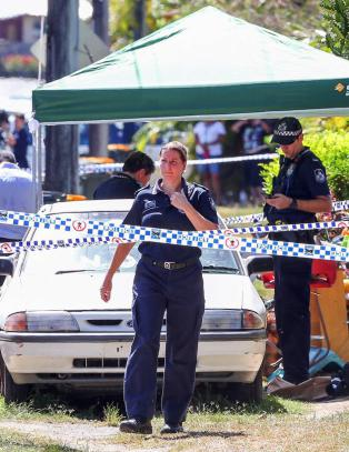 Mor funnet skadd sammen med �tte d�de barn i Australia