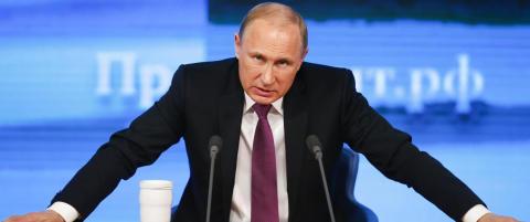 Russland bl�r, men Putin vil ikke ha skylda