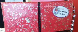 Denne julegaven ble sendt fra Sarpsborg, men n�r ikke fram til jul
