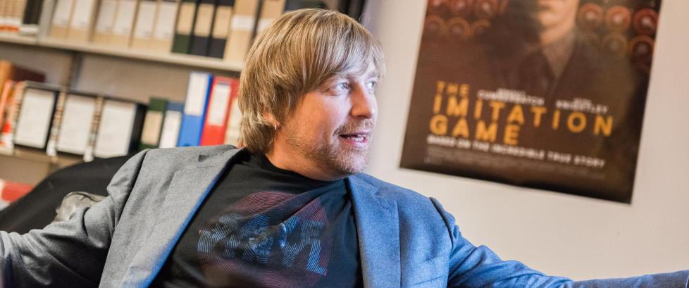Morten Tyldum: - Jeg har ikke noe behov for � leve et glamor�st liv