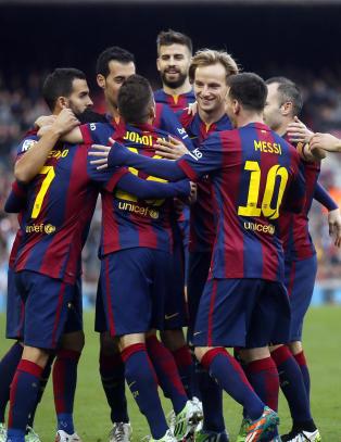 �degaard s� Barcelona herje p� Camp Nou