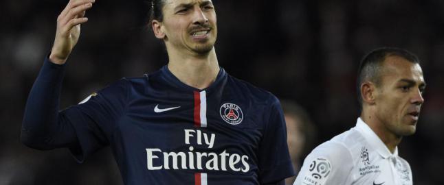 Zlatan en skygge av seg selv da PSG tapte for andre kamp p� rad