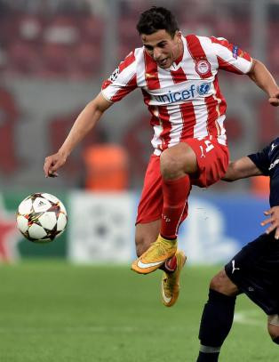 Olympiakos og Omar topper tabellen i Hellas