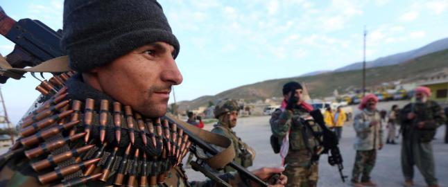 - Vi kommer ikke til � la en tomme land i Kurdistan v�re igjen til IS
